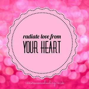 Radiate love from your heart
