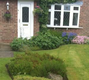 house front garden